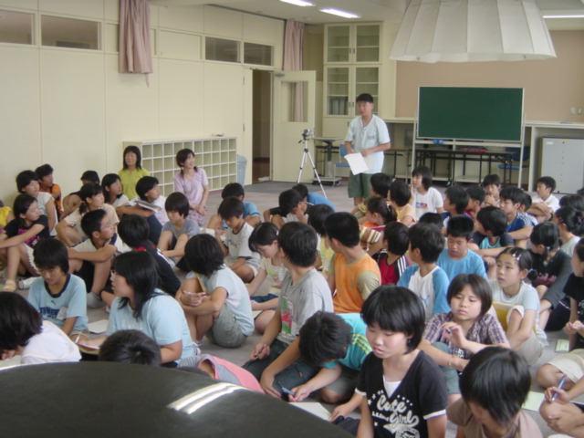 小学校での発電教室