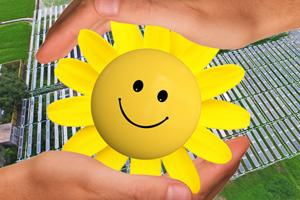営農型太陽光発電システム(ソーラーシェアリング)